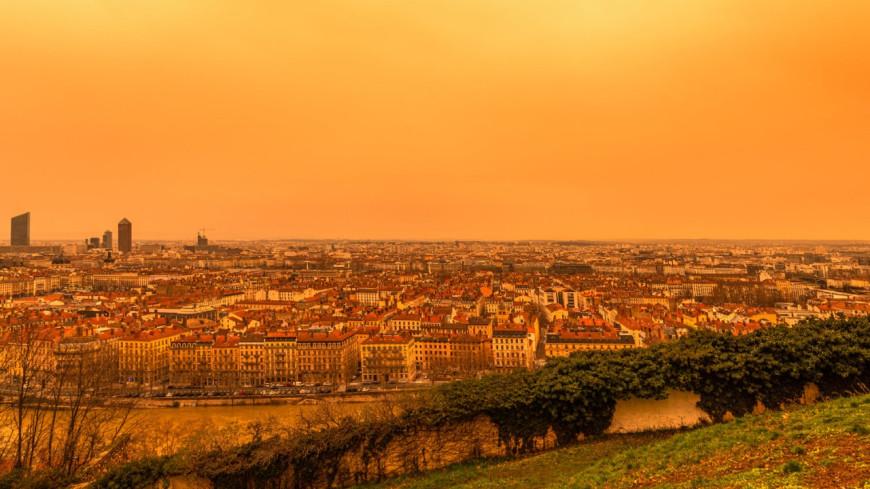 Le ciel va redevenir jaune à Lyon, ce dimanche