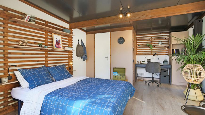 Lyon : des maisons mobiles pour les jeunes sans-abris installées dans le 3ème arrondissement