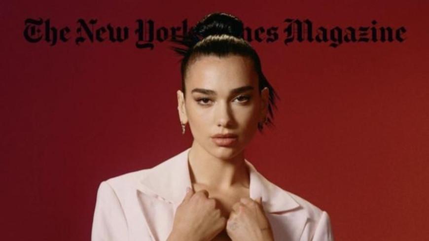 Dua Lipa en couverture du New York Times