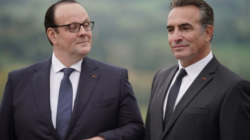 """Jean Dujardin incarne Nicolas Sarkozy dans la bande-annonce du film """"Présidents"""" (vidéo)"""