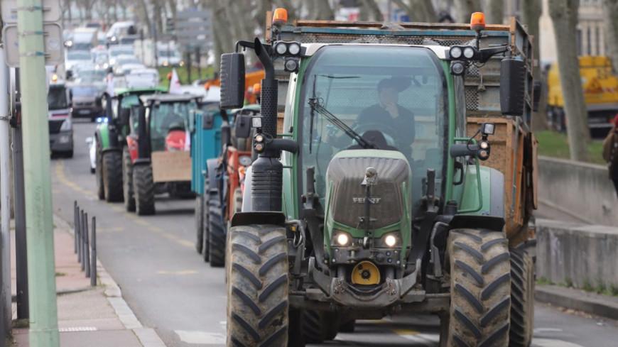 Manifestation des agriculteurs : attention aux perturbations ce jeudi matin à Lyon !