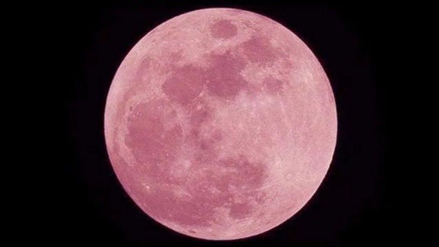 La Super Lune Rose brillera dans le ciel ce 27 avril !