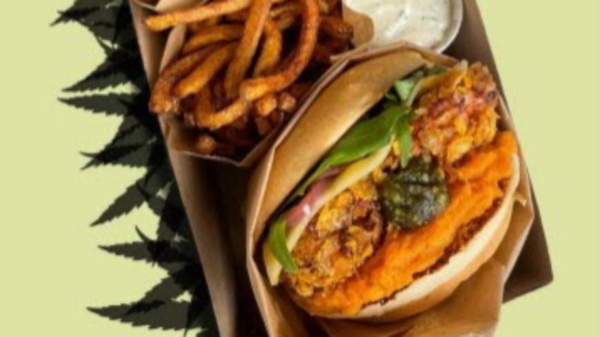 Lyon : un restaurant lance le premier menu en France de fast-food 100 % bio au CBD