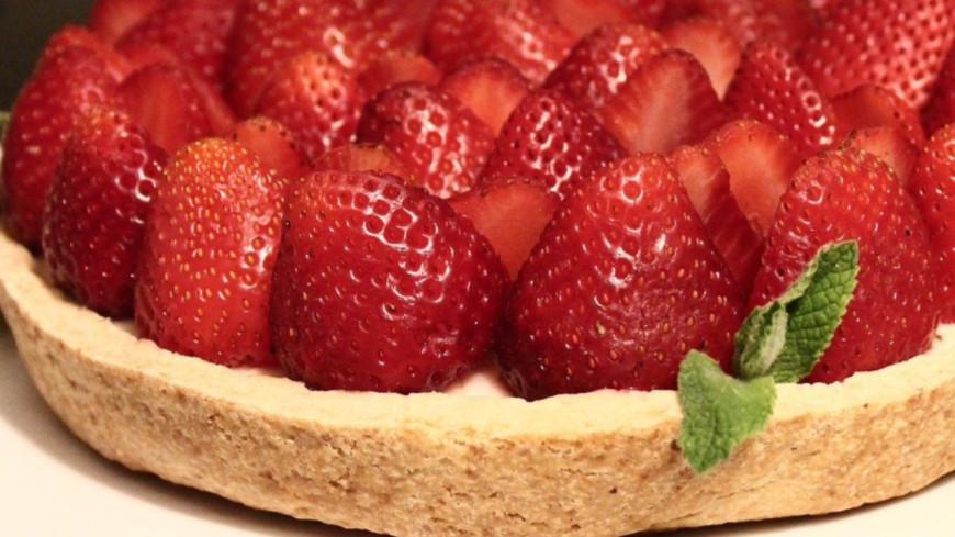 La recette de la tarte aux fraises sans cuisson!