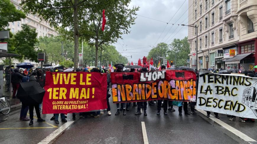 Lyon : des tensions lors de la manifestation du 1er mai