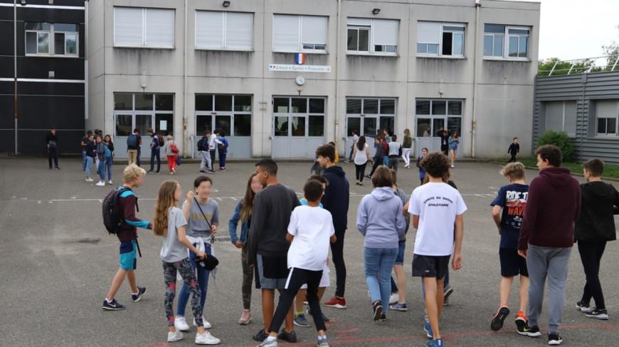 Lyon : retour en classe ce lundi pour les collégiens et lycéens