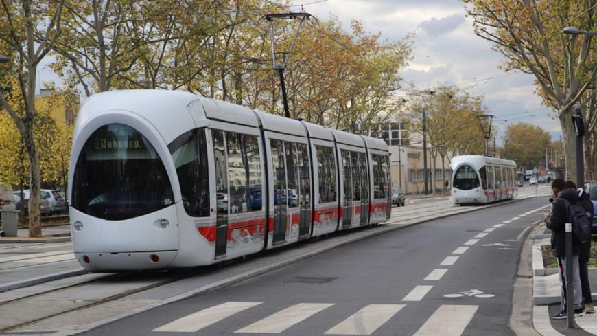 """Le  tracé """"historique"""" retenu pour le prolongement du T6 près de Lyon"""