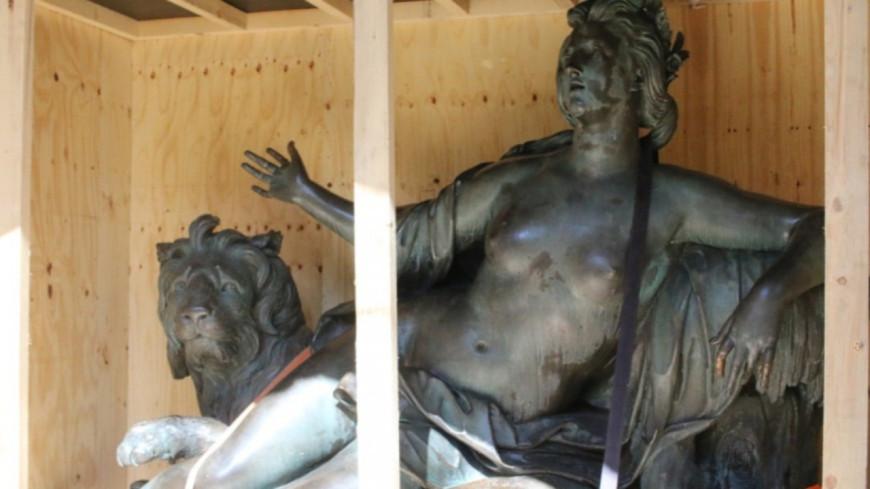 Lyon : la restauration des statues des frères Coustou à découvrir lors de visites