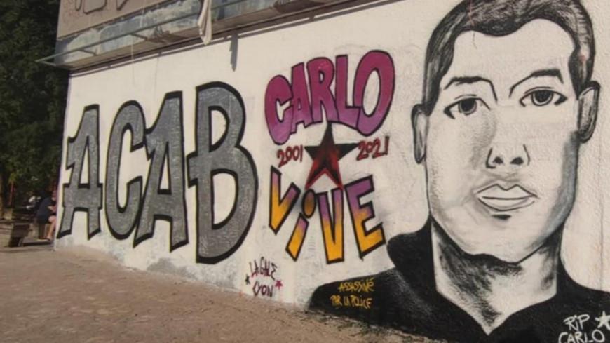 Guillotière : une fresque anti-police réalisée ce mardi