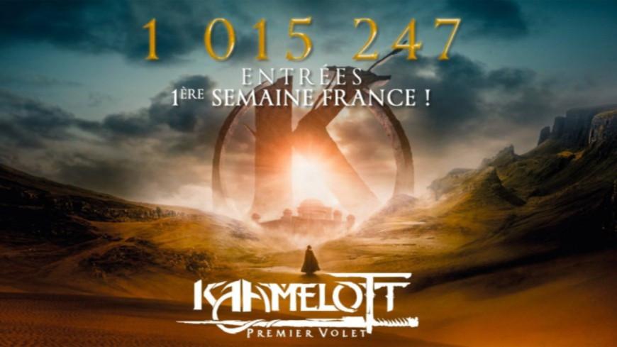 Plus d'un million de spectateurs en une semaine pour Kaamelott !
