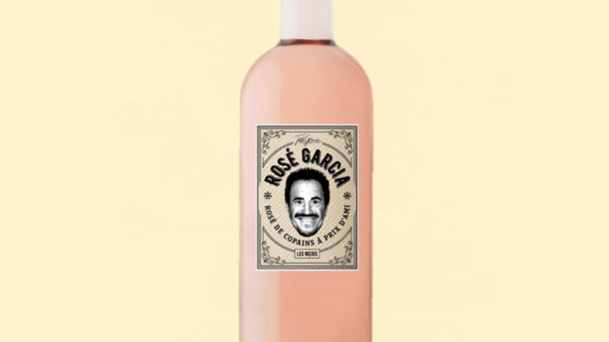 """José Garcia commercialise son propre vin baptisé """"Rosé Garcia"""" !"""