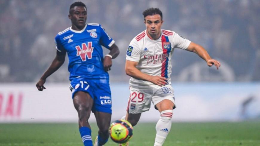 L'Olympique Lyonnais montre un beau visage  en battant Strasbourg (3-1)