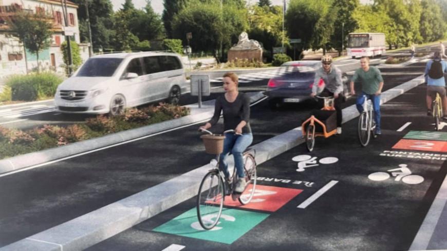 Les Voies Lyonnaises : bientôt 13 lignes et 355 km de pistes cyclables dans la Métropole