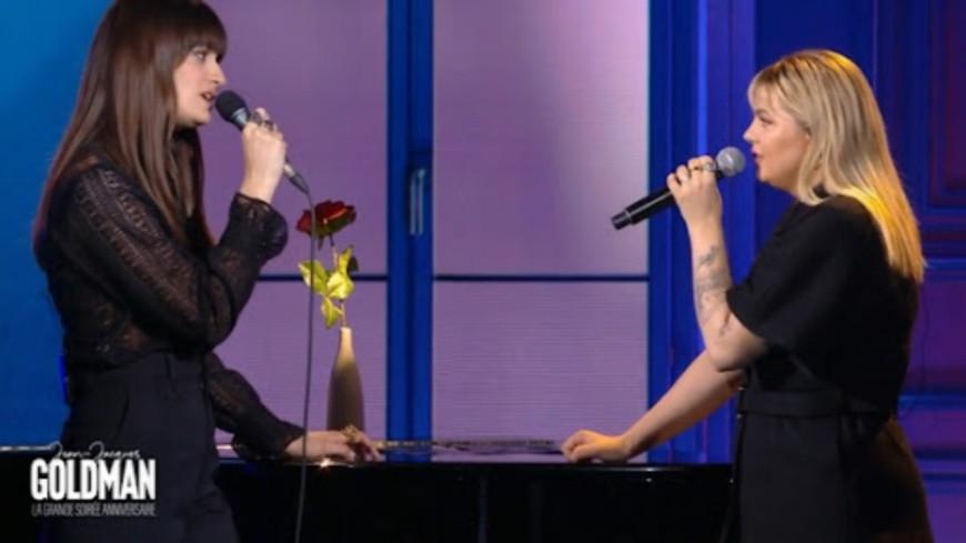 Louane et Clara Luciani en duo sur un titre culte de Céline Dion ! (vidéo)