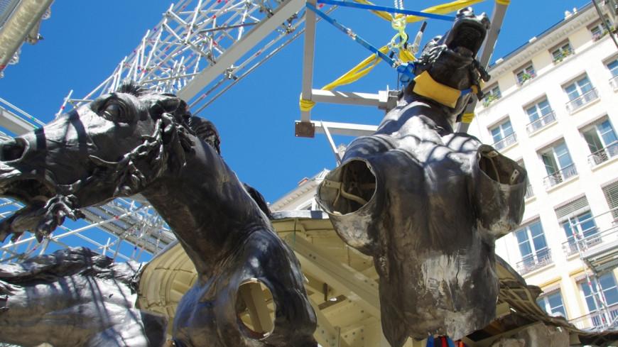La fontaine Bartholdi rénovée sera inaugurée le 22 mars à Lyon