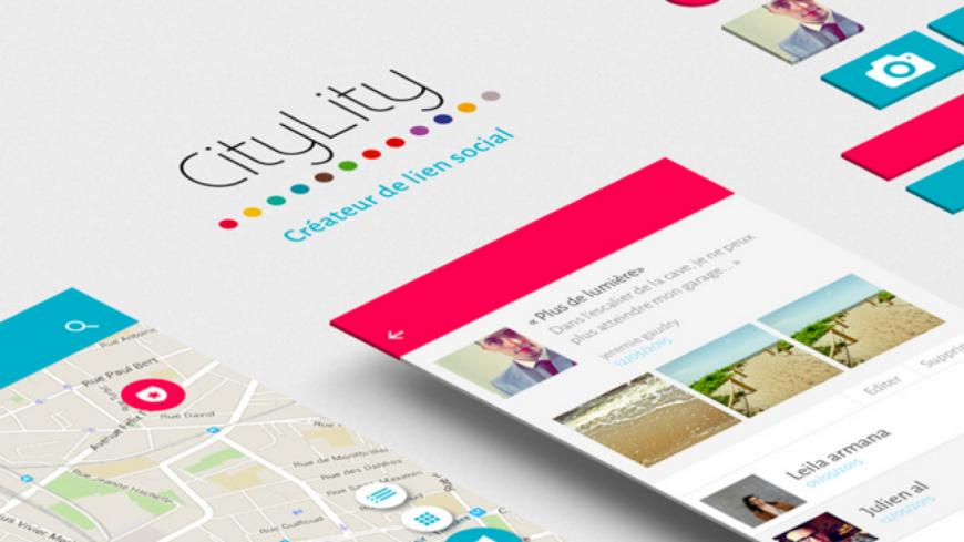 CityLity, Une application citoyenne pour construire la ville de demain.