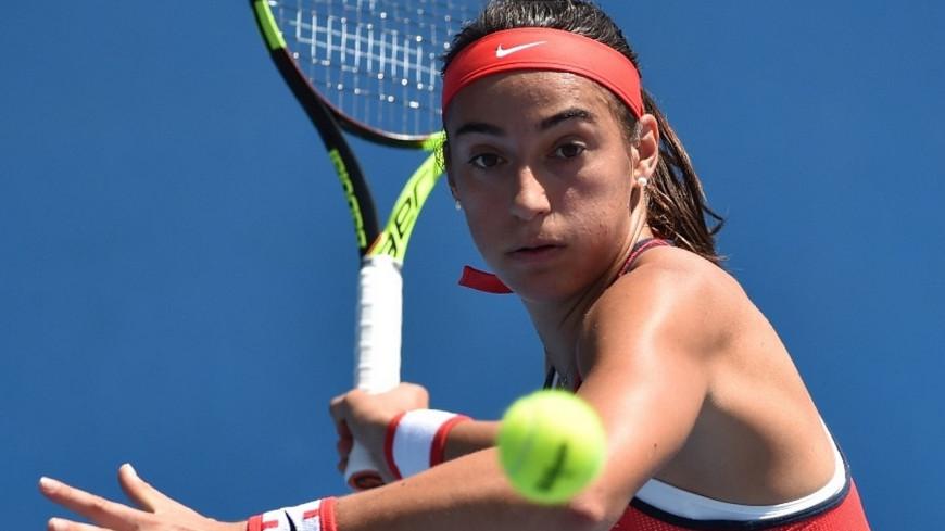 Caroline Garcia expéditive pour son premier match à Roland Garros