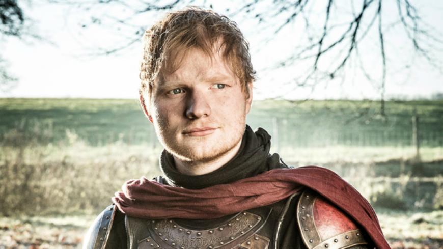 Games of Thrones : Ed Sheeran moqué sur la toile