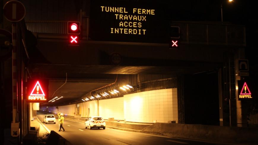 Le tunnel de Fourvière fermé tout le week-end pour rénovations après l'accident d'un camion en septembre