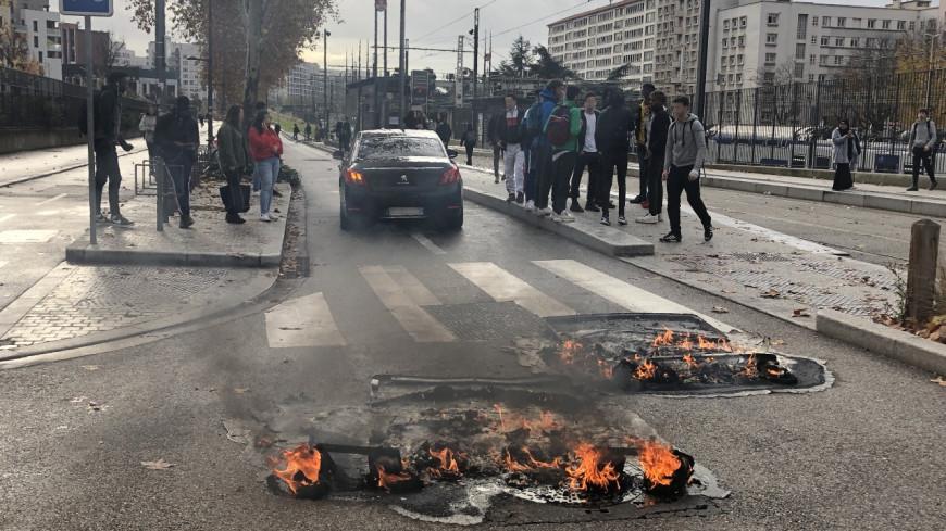 Lycées bloqués : Quatrième jour de blocage pour les lycées