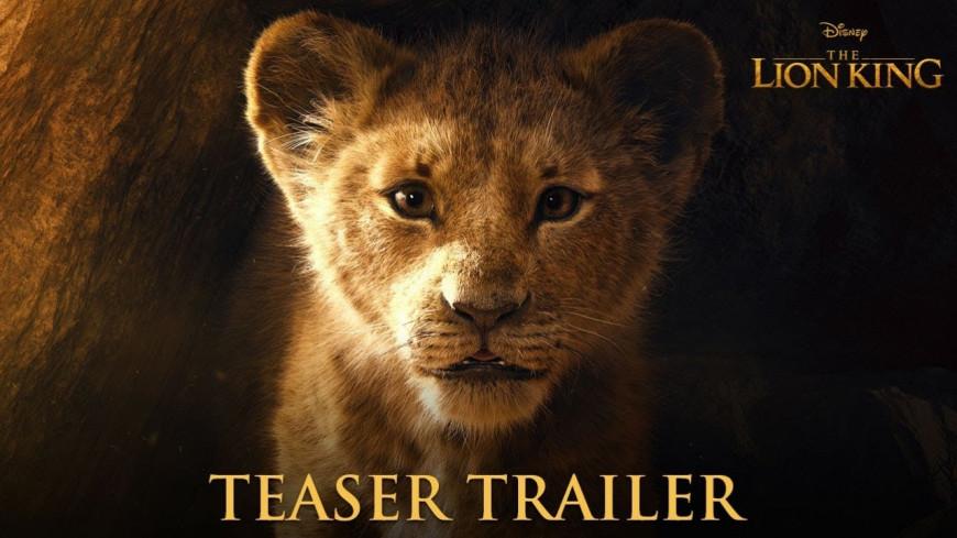 """Disney vient de sortir la bande-annonce du film """"Le Roi Lion"""" !"""
