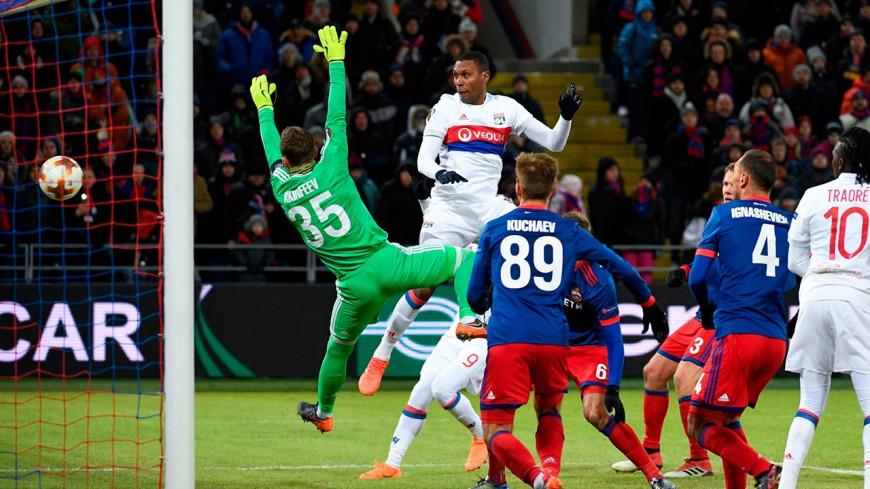 L'OL s'impose de justesse à Moscou en Ligue Europa (0-1)