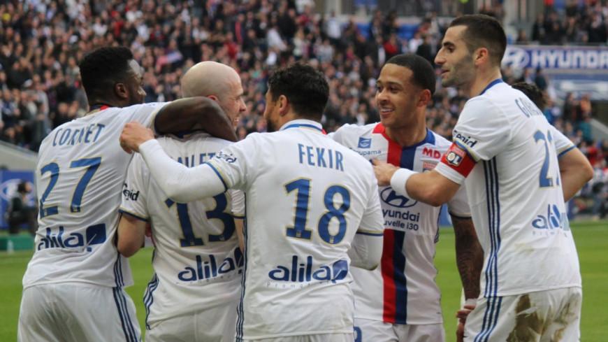 L'OL brille pour sa reprise en Ligue 1 face à Strasbourg (4-0)