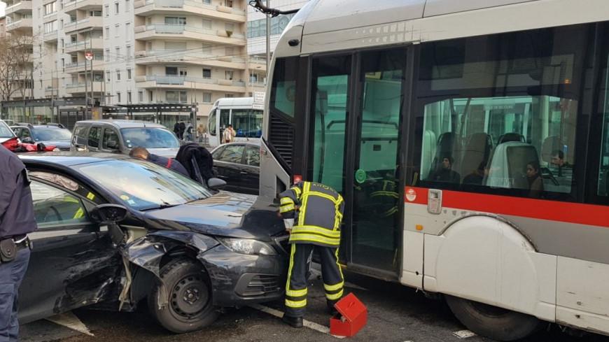 Un accident violent dans le 6e arrondissement !