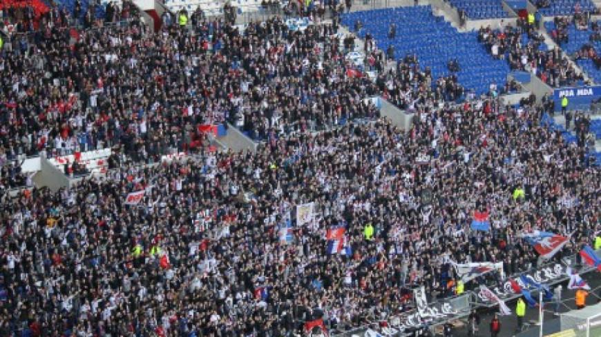 Ligue des Champions : Des filets de protection mis en place au Groupama Stadium.