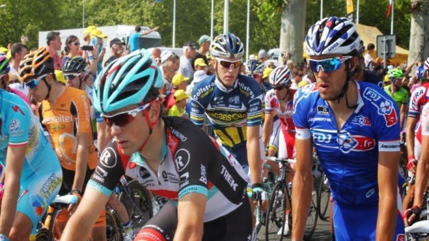 Le Critérium du Dauphiné de passage dans le Rhône ce mardi