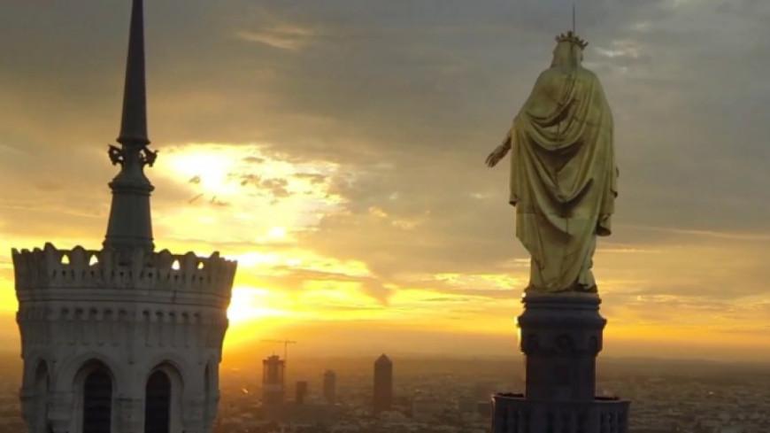 Lyon filmée par un drone : la vidéo qui fait le buzz