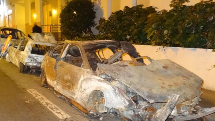 Villeurbanne : Plusieurs voitures brûlées ce week-end !