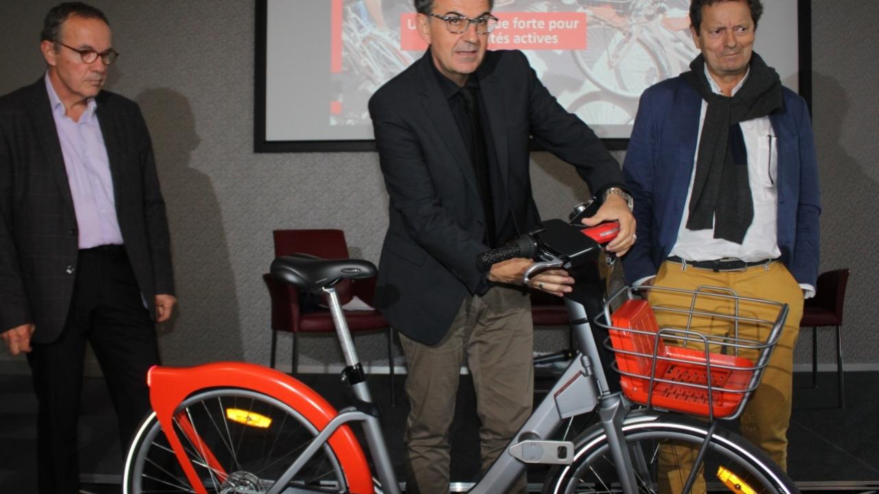 La Métropole de Lyon a présenté le nouveau Vélo'V