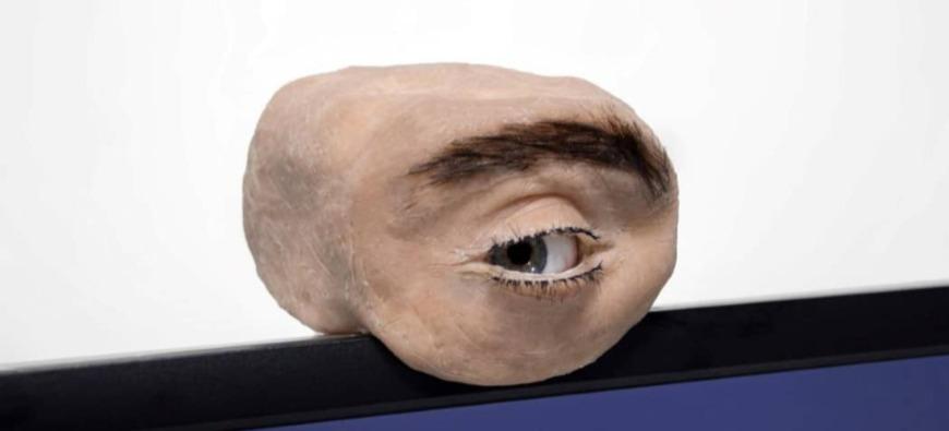 Voici la webcam en forme d'oeil (vidéo)
