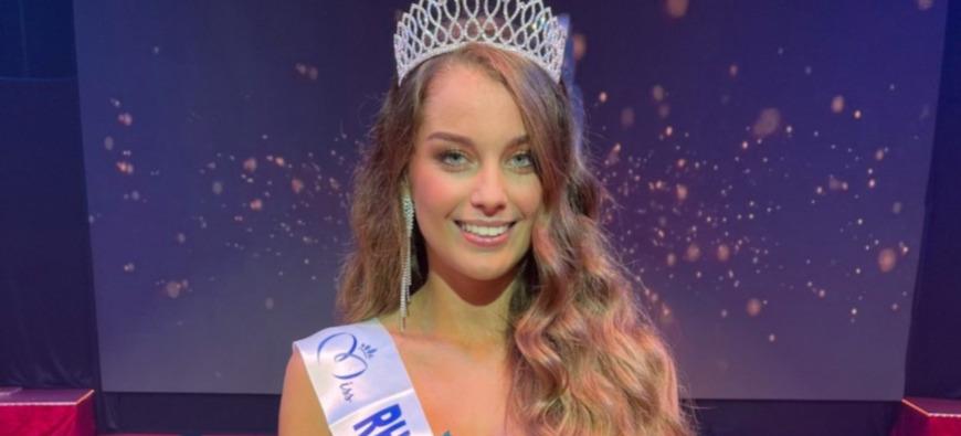 Charlotte Faure devient Miss Rhône-Alpes 2021 !