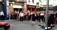 Battle de danse insolite sur Get Lucky
