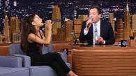 Ariana Grande et Jimmy Fallon se parlent en chansons !